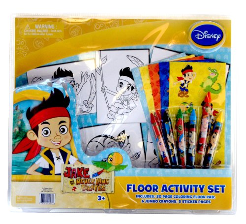 Tri-Coastal Design -Toys Disney Junior Jake and The Neverlands Pirates Floor Activity Set