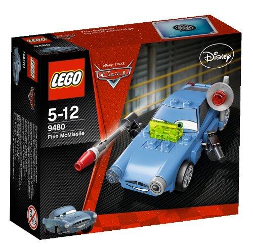 LEGO Cars - 9480 - Jeu de Construction - Finn McMissile
