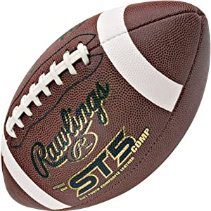 Buy Rawlings Soft Touch Full Grain Official Size Football by Rawlings