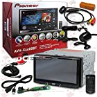 2014 Pioneer 7 Double DIN Touchscreen AM/FM DVD MP3 WMA CD Player Bluetooth + Remote with FREE JDM 170° Rear View Back-up Camera
