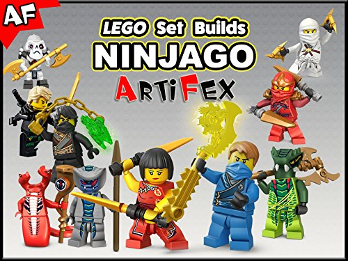 Clip: Lego Set Builds Ninjago - Season 4