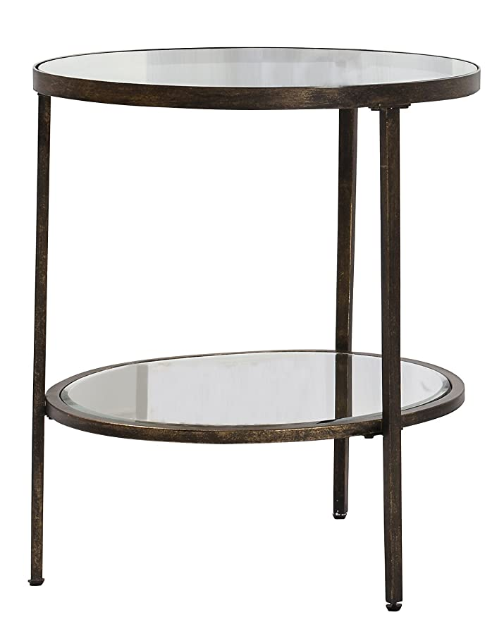 sGallery Direct Hudson - Tavolino da 112 x 50 x 60 cm, trasparente