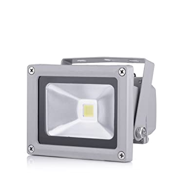 10x50W LED Floodlight Security  Outside Garden Wall Motion Light IP67 Cool White