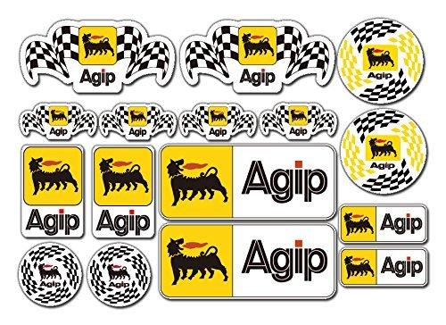 agip-agip-sticker-set-16x-motorbike-car-toolbox-ducati-aprilia-alfa-decals-stickerzzz