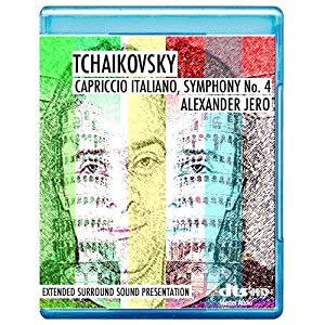 Tchaikovsky: Capriccio Italien, Symphony No.4 - The New Dimension of Sound Series [7.1 DTS-HD Master Audio Disc] [BD25 Audio Only] [Blu-ray]