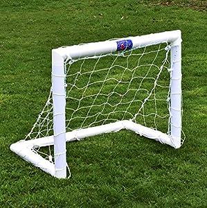 FORZA - wetterfestes Kinder Fußballtor, 0,9 x 0,75 m [Net World Sports]