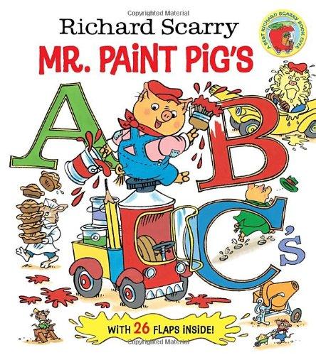 Richard Scarry Mr. Paint Pig's ABC's