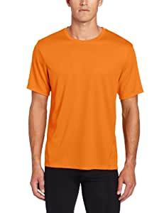 ASICS Men's Core Short Sleeve Top, Shock, Medium