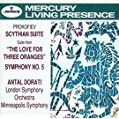 Prokofiev: Symphony No.5/The Love for 3 Oranges Suite/Scythian Suite