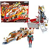 Bandai Year 2006 Power Rangers Mystic Force 18 Inch Long Vehicle Playset Dragon Rootcore Command Center With Zipline...