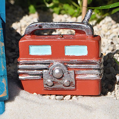 Miniature Fairy Garden Lakeside Vintage Radio