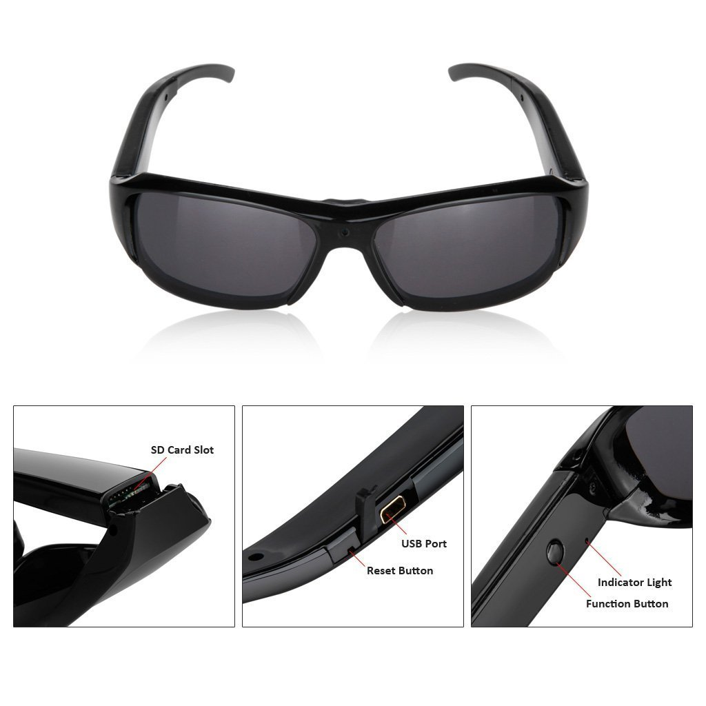 FLY Shop® Newest Two Button HD 1920*1080 Spy CameraCustomer reviews and more information
