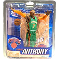 Mcfarlane Carmelo Anthony St. Patricks day collectors club exclusive figure New York...