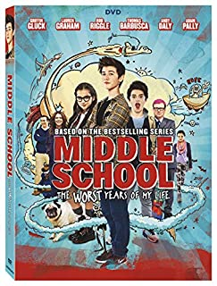 Book Cover: Middle School: The Worst Years Of My Life