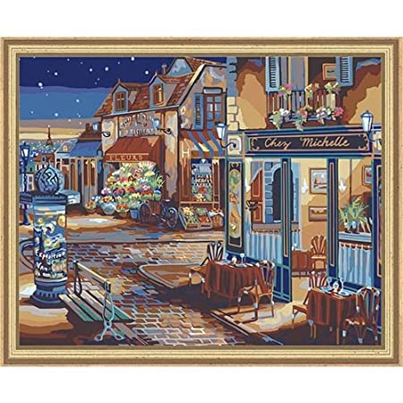 Plaid 21757 Paint by Number Kit, 20-Inch by 16-Inch, Starry Night