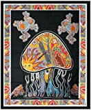 Worldoftextile Indian Mandala Elephant Tapestry Wall Hanging Bedspreads beach Throw Home Decor2