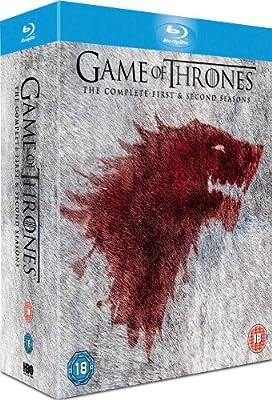 Game of Thrones - Season 1-2 Complete [Blu-ray] [2013] [Region Free]