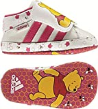 Adidas Disney Winnie & Friends Crib Leather (Winnie girls) running white/ultra pink/radiant pink, Size Adidas UK: 21