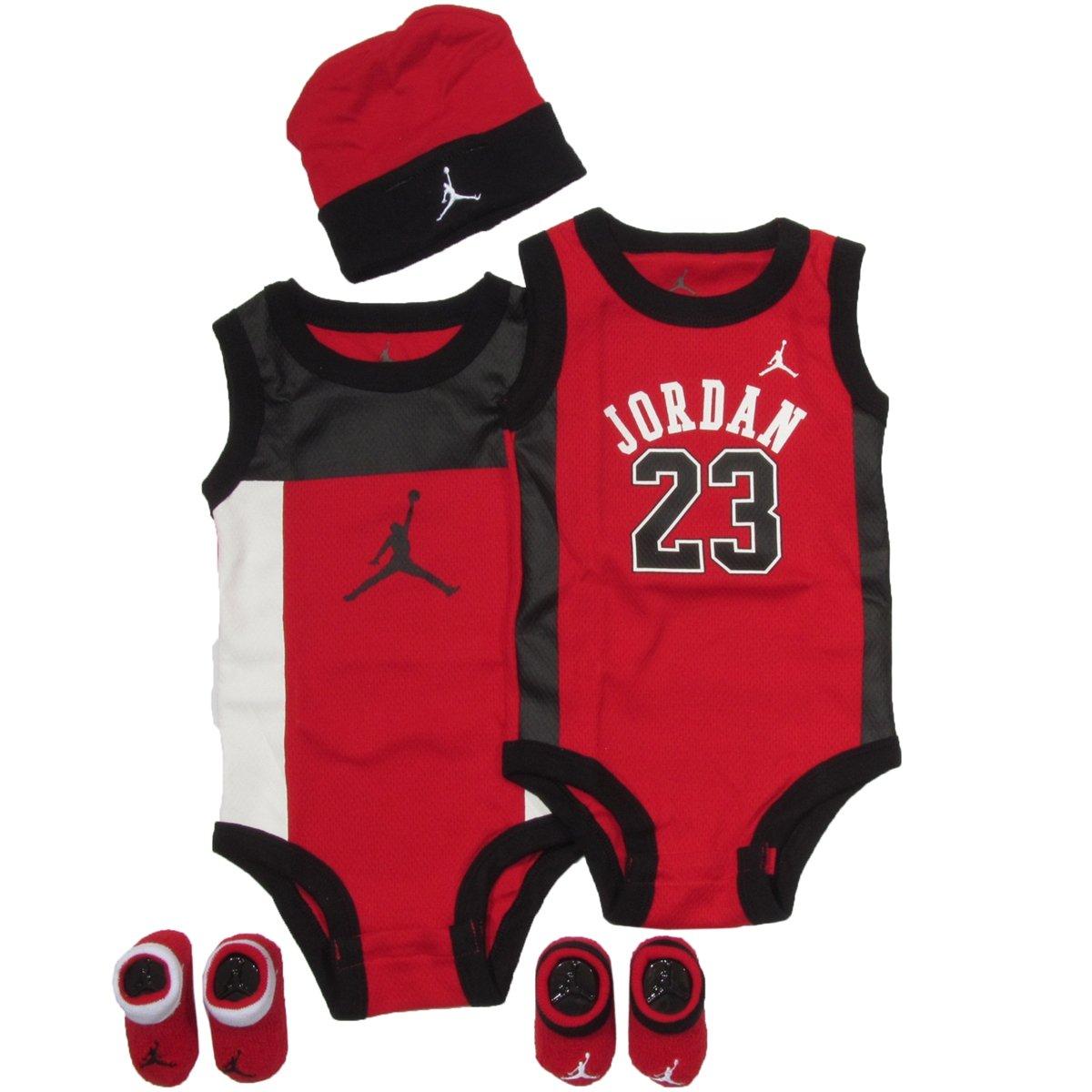 Jordan Jumpman 3 Piece Creeper Set - Boys' Infant $ $ Jordan Wing Tunic & Leggings Set - Girls' Infant $ $ Jordan Cement Print Hat and Bootie Set - Boys' Infant $ $