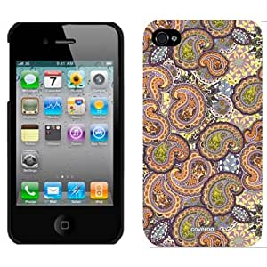 Coveroo Thinshield Snap-On Cell Phone Case for iPhone 4/4s - Retail Packaging - Paisley Multicolored