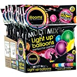 Illoom Balloon Light Ups 15pk Plain