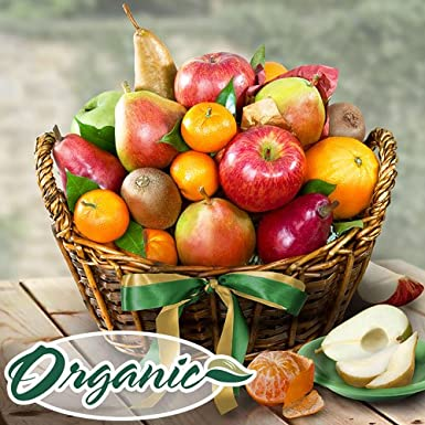 Organic California Bounty Fruit Basket