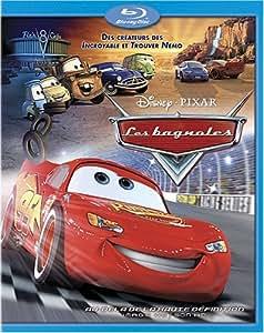 Les bagnoles / Cars (Version française) [Blu-ray]