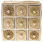 Jute and Cotton Cabinet