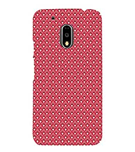 Colourful Pattern 3D Hard Polycarbonate Designer Back Case Cover for Motorola Moto G4