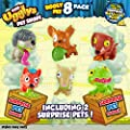 The Ugglys Pet Shop!, Series 1 Figure 8-Pack [Characters May Vary] by Moose Toys Import