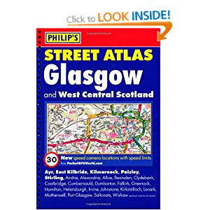 Glasgow and West Central Scotland Street Atlas (Philip's Street Atlases S.) Author