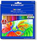 Staedtler 144NC24 Noris Club - Pack de 24 lápices de colores [Importado de Alemania]