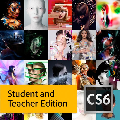Adobe Creative Suite 6 Master Collection Student And Teacher Edition Low Price