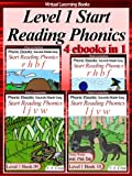 Level 1 Start Reading Phonics Books 07-10 (4 ebooks in 1) (Phonic Ebooks (Children's Start Reading Collections))