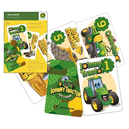 "John Deere Johnny Tractor ""OLD MAID"" Playing Cards - 1"