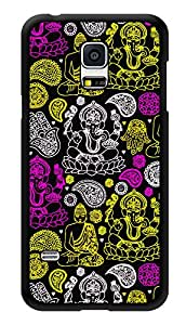 """Humor Gang Indian Gods Ganesha Buddha Printed Designer Mobile Back Cover For """"Samsung Galaxy S5"""" (3D, Glossy, Premium Quality Snap On Case)"""