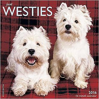2016 Just Westies Wall Calendar