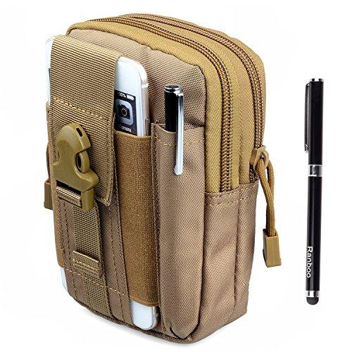 Amy Compact 1000D Military Nylon cellphone Molle Camo Bag Utility Tough Heavy Duty Tactical waist Packs Gadget Pouch for Google