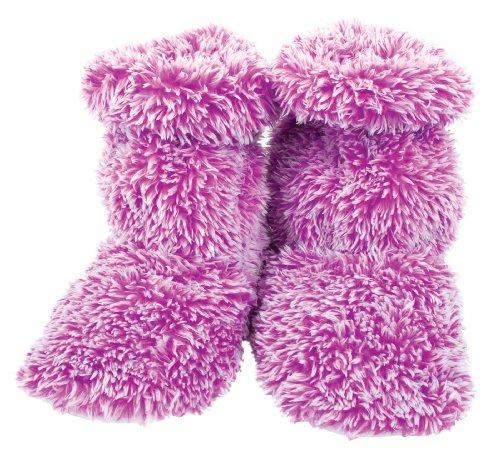 Aroma Home Purple Fluffy Microwaveable Feet Warmers