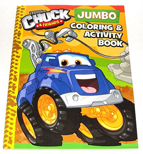 Tonka Chuck & Friends Bendon Coloring & Activity Book 96 Total Pages