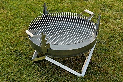 Steel Fire Pit And Barbecue Yanartas - Contemporary Design