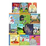 Julia Donaldson Julia Donaldson and Axel Scheffler Pack 13 Books Set, (Gruffalo, One Mole, Hippo Has A Hat, Chocolate Mousse For Greedy Goose, Rosie's Hat, One Ted, Cave Baby, Hamilton's Hats and more