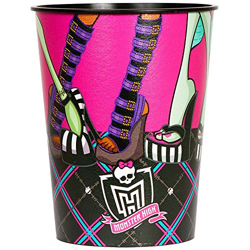 Monster High Reusable Keepsake Cups (2ct)