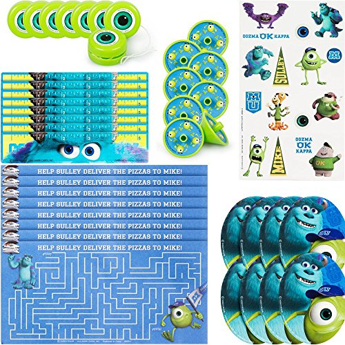 Hallmark BB1TPE1740 Monsters Inc. Party Favor Pk - 48 Piece - 1
