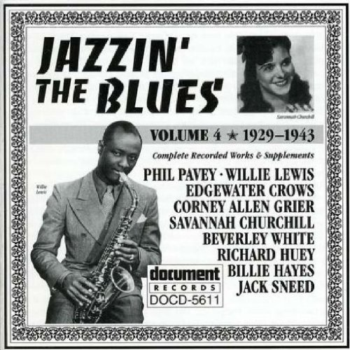 Jazzin the Blues 4: 1929-43 (Jazzin The Blues compare prices)