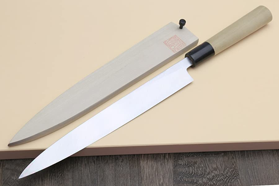 Yoshihiro Shiroko Chef Knife via Amazon