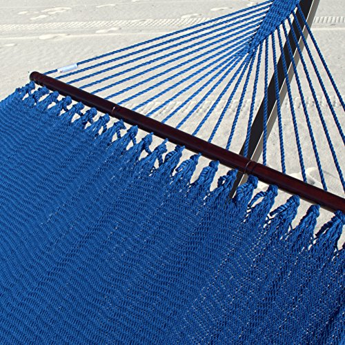 Double Caribbean Hammock (dark blue)