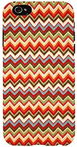 Snoogg waves pattern reddish 2525 Case Cover For Apple Iphone 6 iphone 6