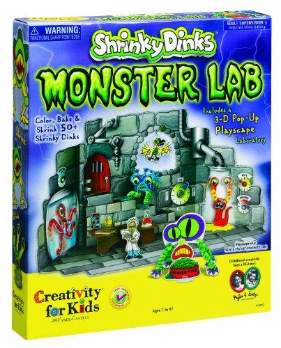 ®Shrinky Dinks Monster Lab front-890995