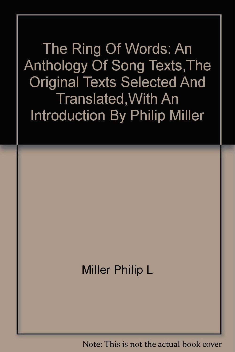 music reference music libguides at oregon state university the ring of words an anthology of song texts by philip l miller